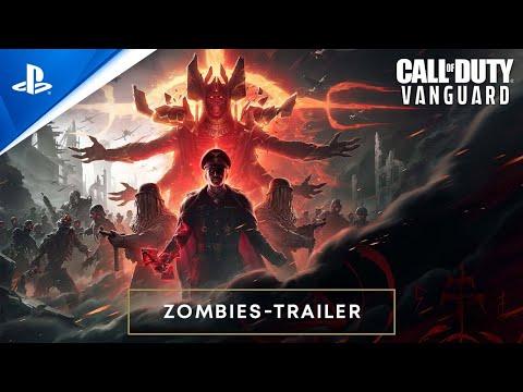 Call of Duty: Vanguard - Zombies Reveal Trailer   PS5, PS4, deutsch