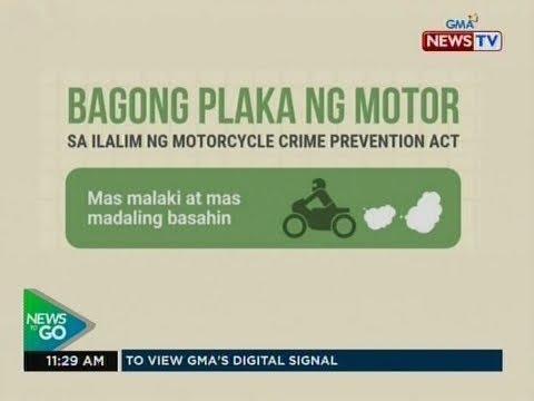 NTG: Batas na layong maiwasan ang paggamit ng motorsiklo sa krimen, pirmado na ni Pangulong Duterte
