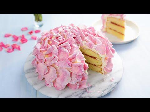 "What's More Romantic Than a Rose Petal Cake""!"