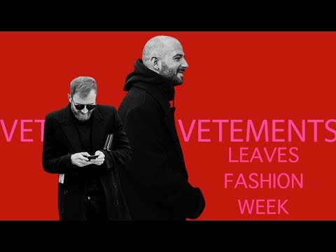 VETEMENTS IS DONE?!?!?