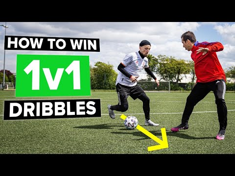 How to win 1v1 situations | dribble the defender