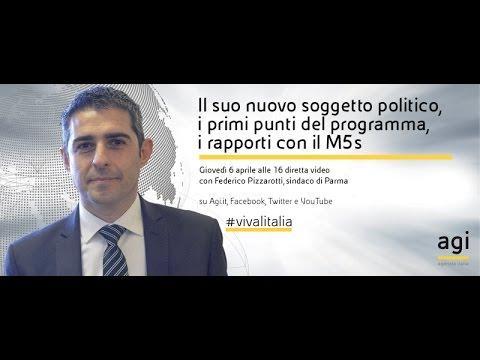 #vivalitalia con Federico Pizzarotti