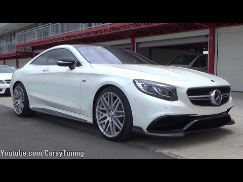 Mercedes Benz S63 Brabus 650 - Starts Revs Acceleration Downshifts