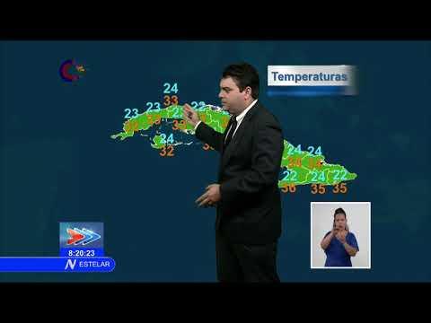 El tiempo en Cuba: algunos chubascos y tormentas eléctricas en la tarde…