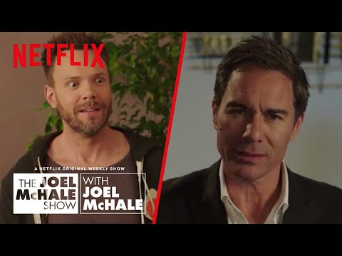 connectYoutube - Eric McCormack - How To Sound Smart at Parties | Joel McHale Show | Netflix