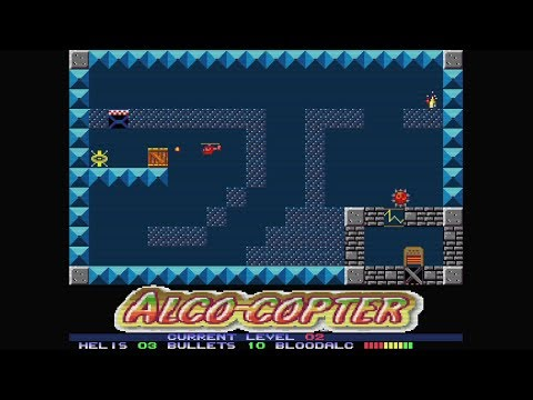 Alco-Copter (2018) | Preview Comentada | Amiga | Homebrew World