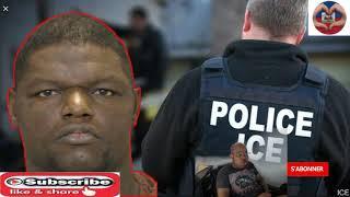 ICE kanpe yon black ameriken pandan yo tap chache yon kriminèl haitien ke yo te  depòte deja