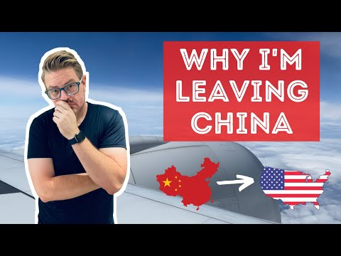 I'm Leaving China..... for my first visit home in 18 months :-)