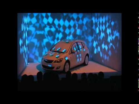 Opel's new car launch in Israel celebrated with 3D video mapping projection