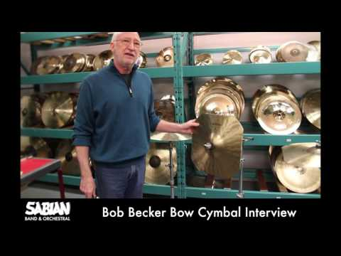 HHX Becker Bow Cymbal_Bob Becker Interview