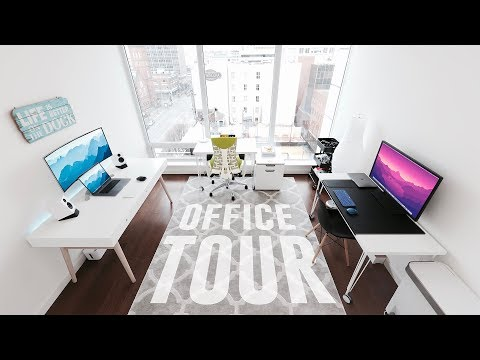 My Apartment Office Setup Tour (2017)