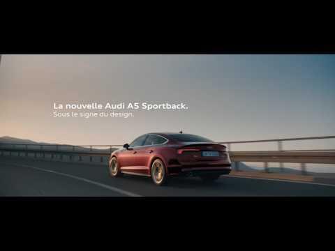 La nouvelle Audi A5 Sportback