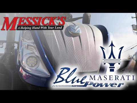 The Maserati BLUE POWER Tractor | New Holland T7.315 Picture
