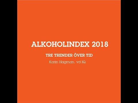 Alkoholindex - 3 trender mot en mer tillåtande syn