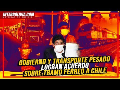 Gobierno y transporte pesado llegan a acuerdo y se suspenden pruebas en vía férrea Arica-Viacha