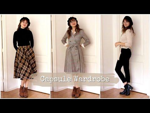 Vintage Autumnal Capsule Wardrobe 👗 10×10 Challenge