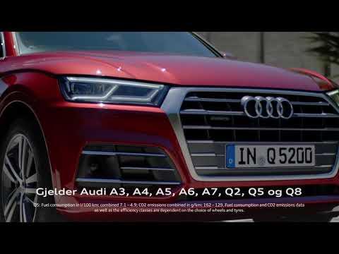 Stor rentekampanje på Audi Q5 og andre utvalgte Audi-modeller