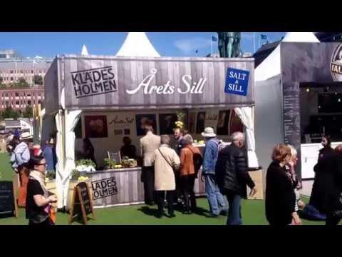 Salt & Sill på matfestivalen Smaka på Stockholm.