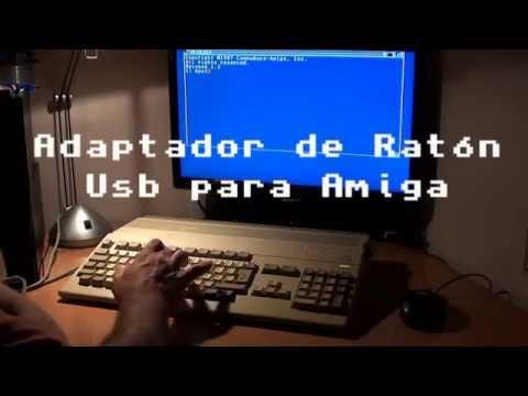 Adaptador de ratón Usb para Amiga - Funcionamiento del Jp Mouse