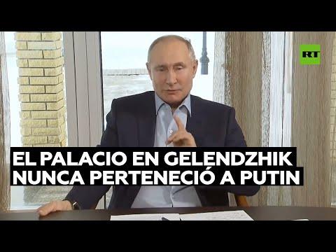 Putin responde a la investigación de Navalny sobre el palacio de Gelendzhik