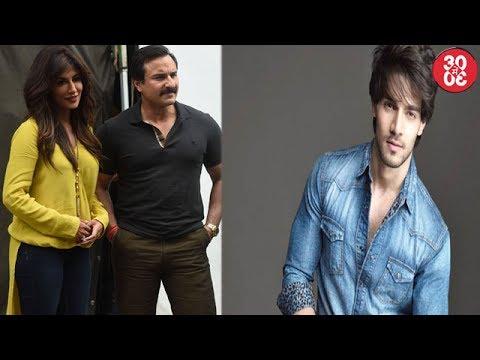 Saif Ali Khan Snapped With Team 'Baazaar' | Sooraj Pancholi's 'Haafiz' Shelved