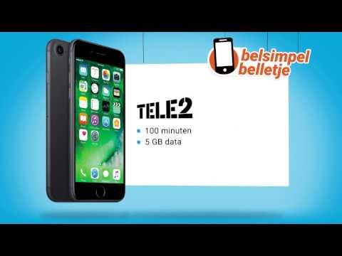 Belsimpel belletje van de week: iPhone 7 & Tele2