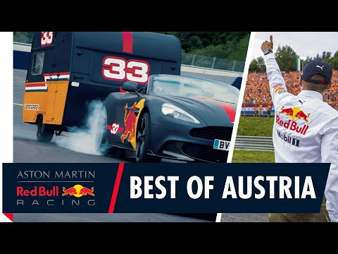 Red Bull Racing's Top 8 Austrian Moments