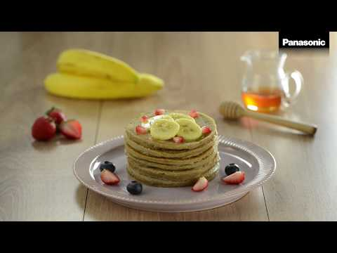 Panasonic V Series Blender – Oatmeal Banana Fritter