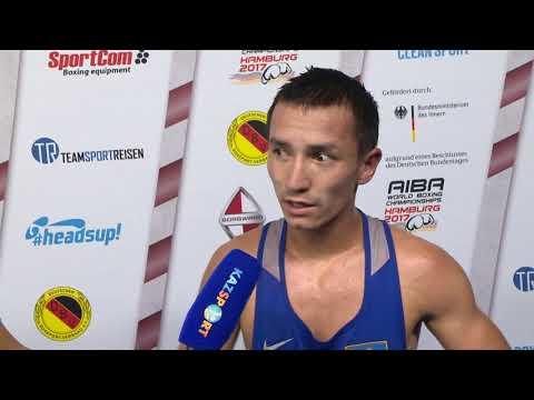 Интервью ЧМ-2017 Ержан 49 кг