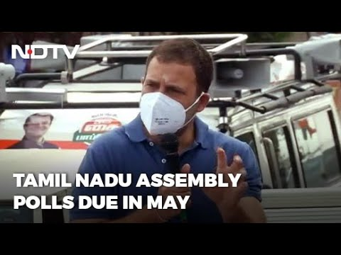 Rahul Gandhi Campaigns In AIADMK Strongholds In Tamil Nadu