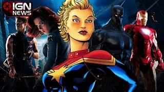 Marvel Announces 9 Movies - IGN News