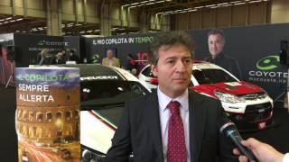 Motor Show 2016 Bologna – Stand Coyote con Maurizio Izzo