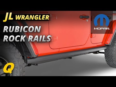 Mopar Rubicon Rock Rails Review for Jeep Wrangler JL