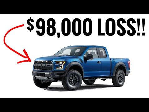 9 Trucks That Depreciate Like A Stock Market Crash!!