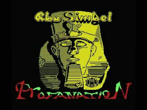Abu Simbel Profanation (completo) (MSX) (Dinamic, 1986)