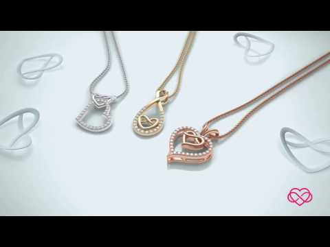 Knotty Heart Collection by Angara.com