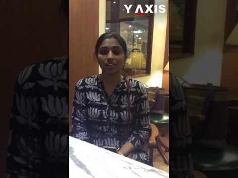 Y-Axis client Visishta Vangala's Video Testimonial on USA visit visa processing