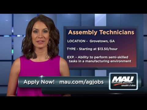 Looking for a career in agricultural manufacturing?