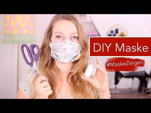 Atemschutzmaske / Mundschutz selber nähen #MaskeZeigen