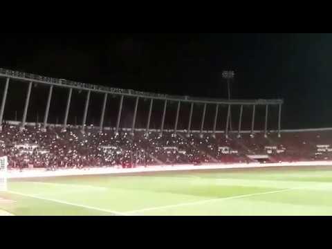 جماهير الوداد تملأ مدرجات ملعب مولاي عبد الله في مشهد رائع