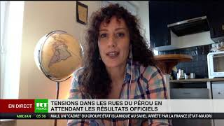 Elections péruviennes : la victoire du «candidat des pauvres» Castillo contestée par le camp opposé