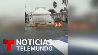 Tiroteo siembra el pánico en Nuevo Laredo | Noticias Telemundo