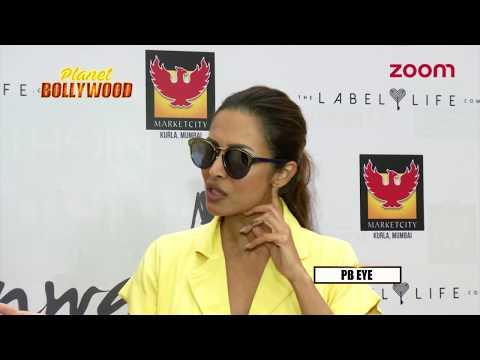 Malaika Arora Avoids Answering On The 'Dabangg 3' Controvery   Bollywood News