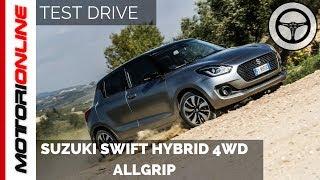 Nuova Suzuki Swift Hybrid 4WD Allgrip | Test Drive in Anteprima