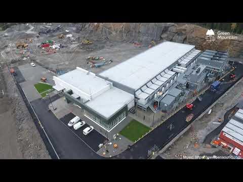 Green Mountain DC3-Oslo Construction Status October 2020