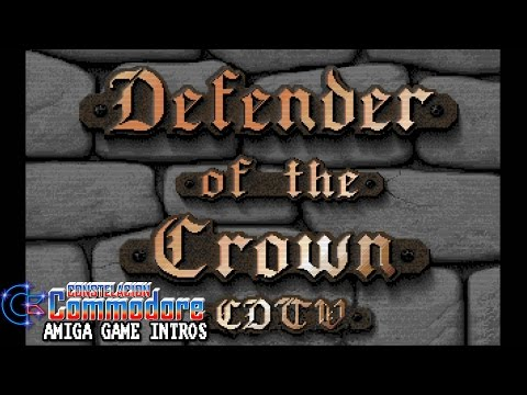 Amiga Game Intro: Defender Of The Crown CDTV (Master Designer Software/CDTV Publishing,1991)