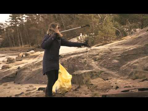 Håll Sverige Rents skräpplockaraktiviteter 18 april 2015