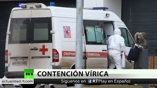 Una mujer de 79 años, primera muerte por coronavirus en Rusia