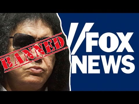 Gene Simmons BANNED From Fox News