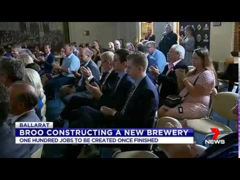 Broo featured on Channel 7 News on 17th February 2017
